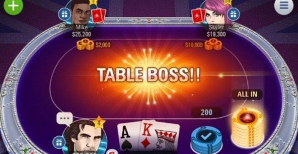 Mobile poker games on tablet